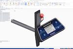 Solid Edge screenshot: Solid Edge modeling