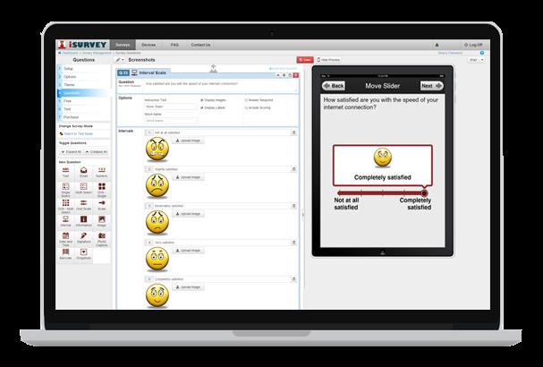 Use emoticons in Harvest Your Data surveys