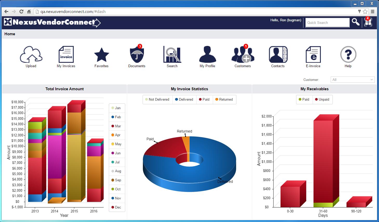 NexusPayables Software - Reporting tools