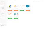 PhoneWagon screenshot: Integrate PhoneWagon with all of our favorite applications. Google Ads, Google Analytics, Hubspot, Salesforce, and so much more!