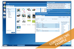 Contegro screenshot: Manage files and documents in the cloud for customized content