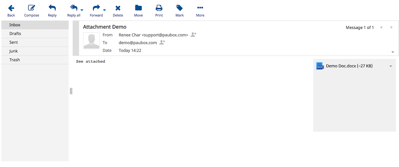 Paubox Email Suite Logiciel - 1