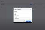 Capture d'écran pour Frame : Frame create organization profile