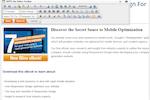 Captura de pantalla de Unbound Marketing: Edit content online