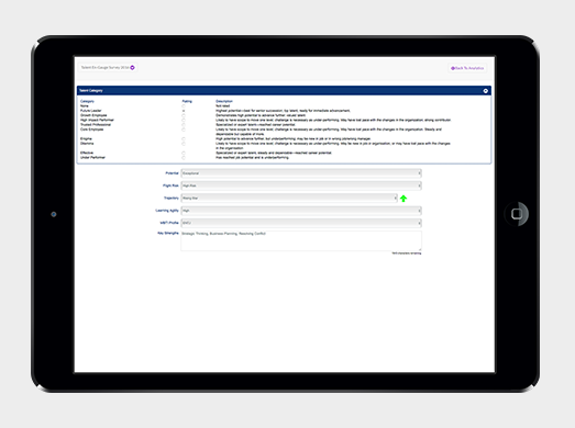 Talent planning tools allow managers to profile talent, chart mobility and gather details on employee ambitions