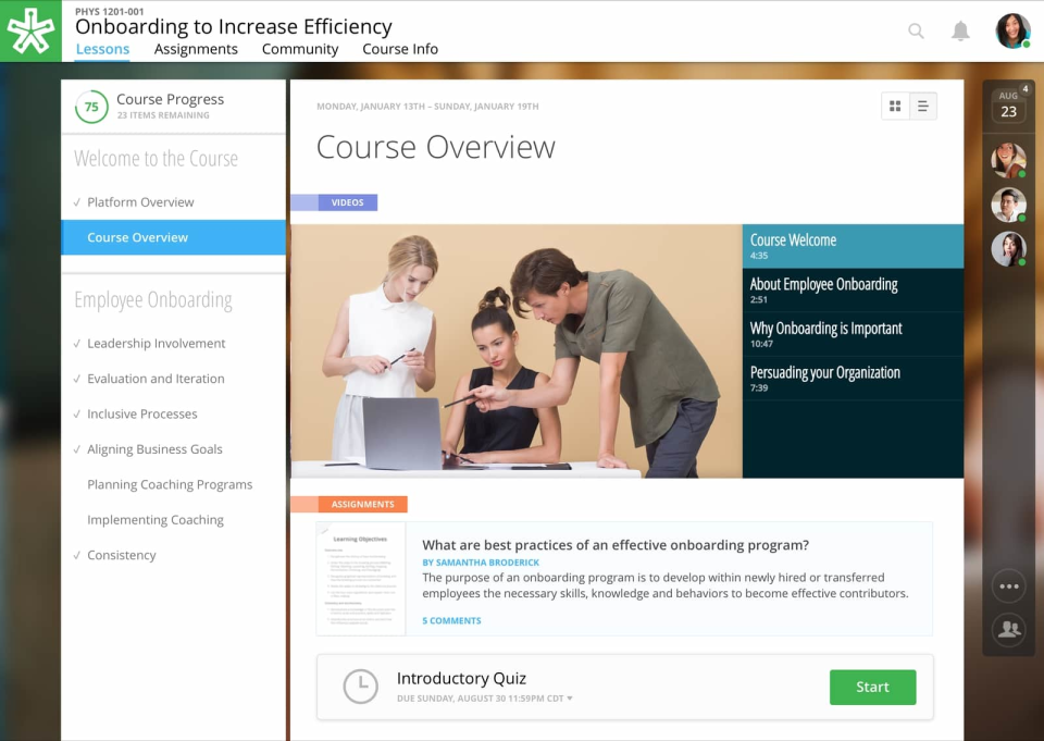 NextThought Software - NextThought Course Overview