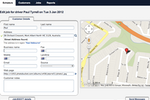 FieldInsight screenshot: Field service managers can edit job details and share them with drivers