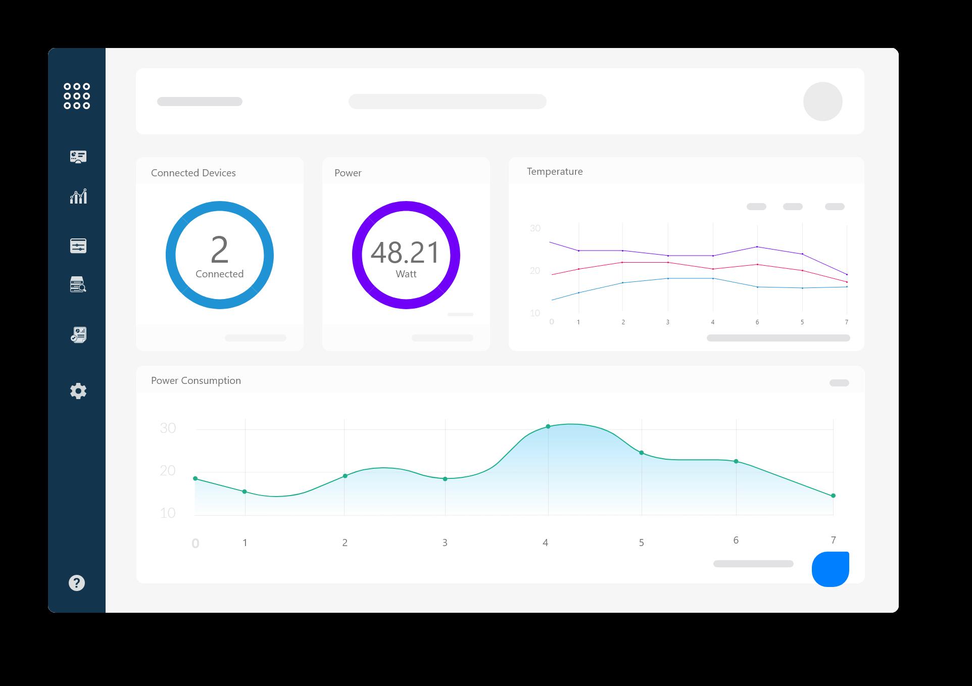 Fogwing IoT Analytics Studio Dashboard