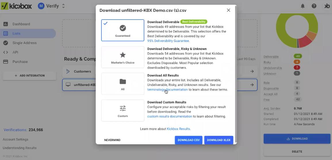 Kickbox Email Verification Software - 5