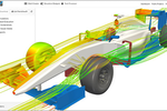SimScale screenshot: The software provides access to sophisticated Fluid Dynamics (CFD) simulation capabilities