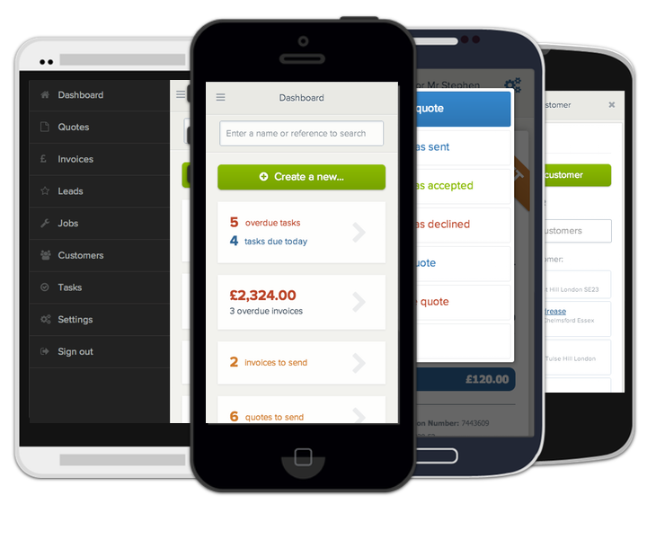 YourTradebase screenshot: Mobile-friendly interface on the go
