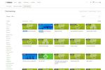 Totara Learn screenshot: Courses in Totara Learn