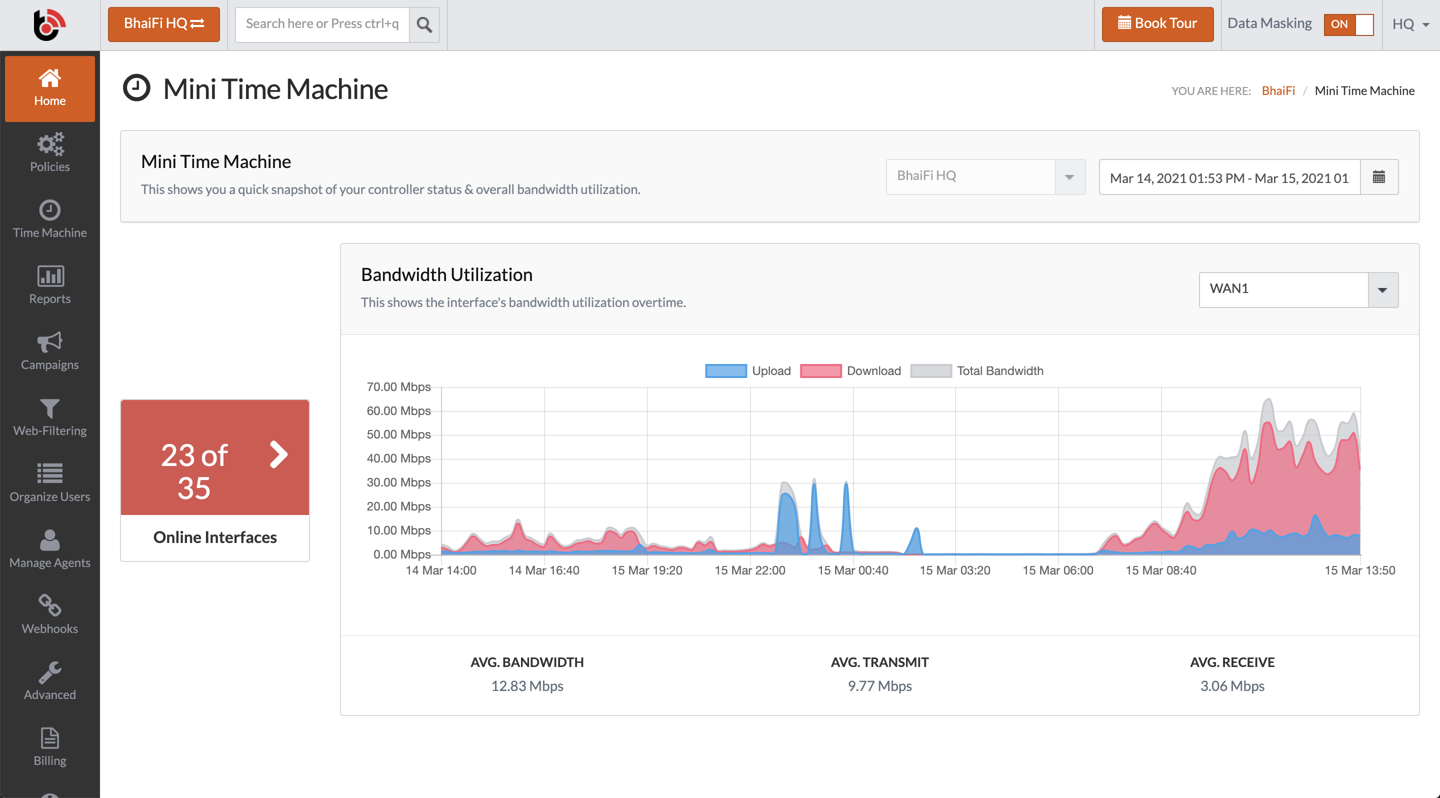 Have you been running your network on guestimates? Not any more. Get real-time analytics & take data-driven decision to deliver the right experience & reducing your costs for unused resources.