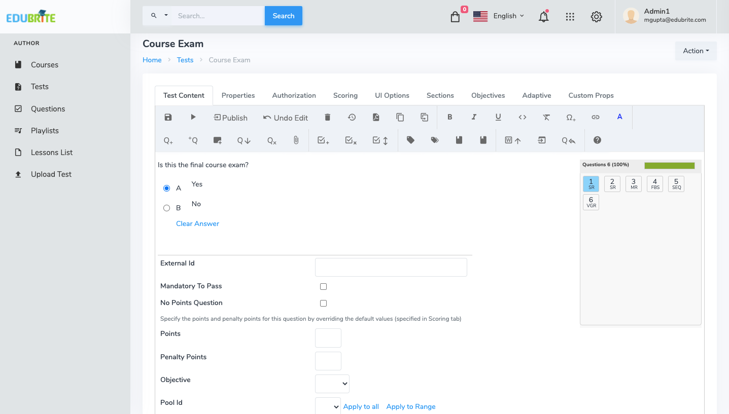 EduBrite Software - Create Quizzes, Surveys and Polls