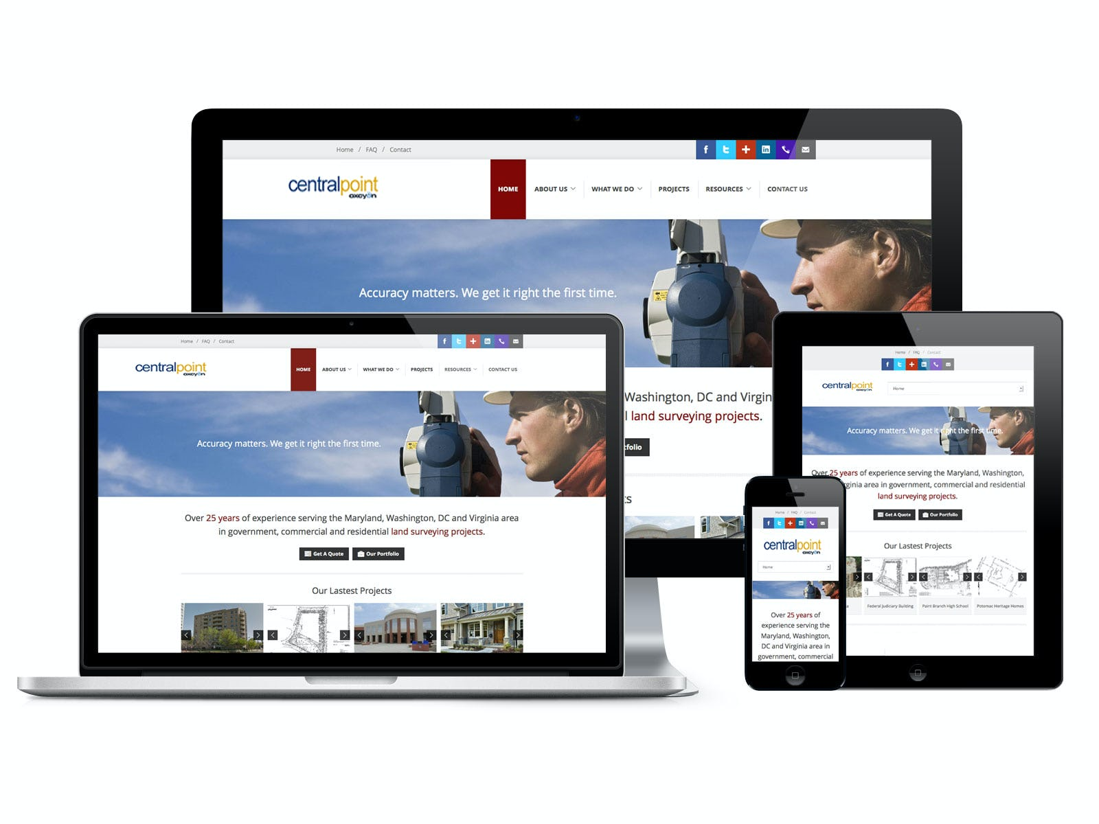 Centralpoint Software - Mobile responsive