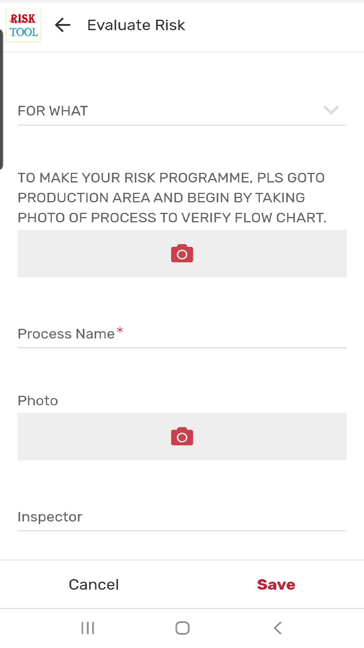 RISK Tool For Safety evaluation