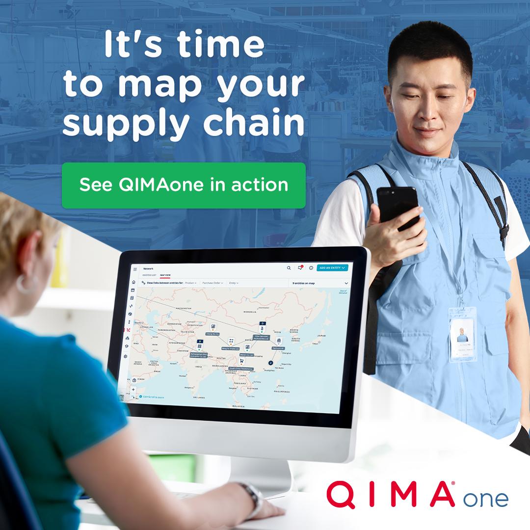 QIMAone Supply chain mapping