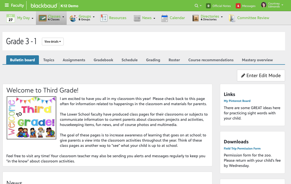 Blackbaud Learning Management System Software - 5