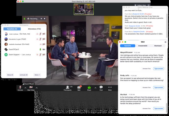 Zoom Video Webinars Software - 1