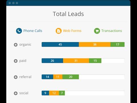 WhatConverts total leads screenshot