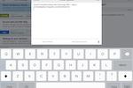HappyFox Help Desk Software - iPad Ticket Message