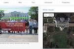 Cloud Vision screenshot: Vision AI landmark detection