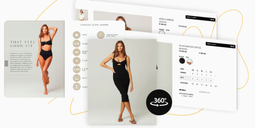 RepSpark 360-degree product details