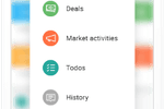 Lime CRM screenshot: Complete overview of customers, deals, marketing campaigns, todo's and much more