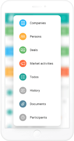 Complete overview of customers, deals, marketing campaigns, todo's and much more