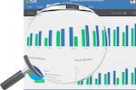 VUE screenshot: Generate business reports & analytics