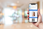 iVisitor screenshot: Pre-registered guests receive an email with location and visit details, along with a QR code they can easily scan upon arrival for a check-in time under 5 seconds.