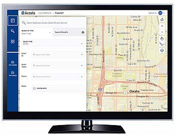 Accela Building integrated GIS screenshot