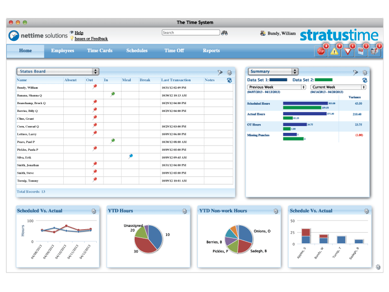 stratustime home page