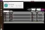 Niikiis screenshot: Time tracking