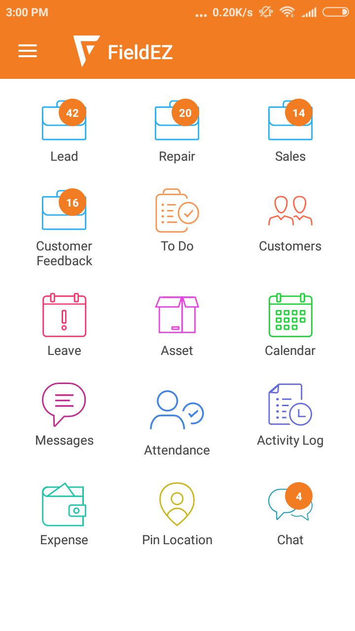 FieldEZ mobile app