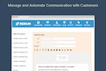Rerun screenshot: Manage and automate customer communication.