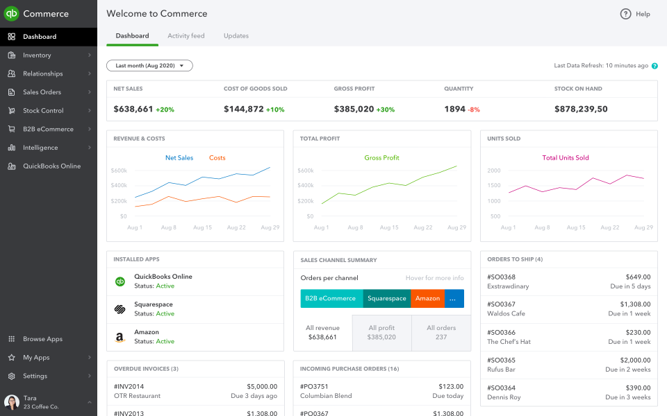 QuickBooks Commerce Software - 1