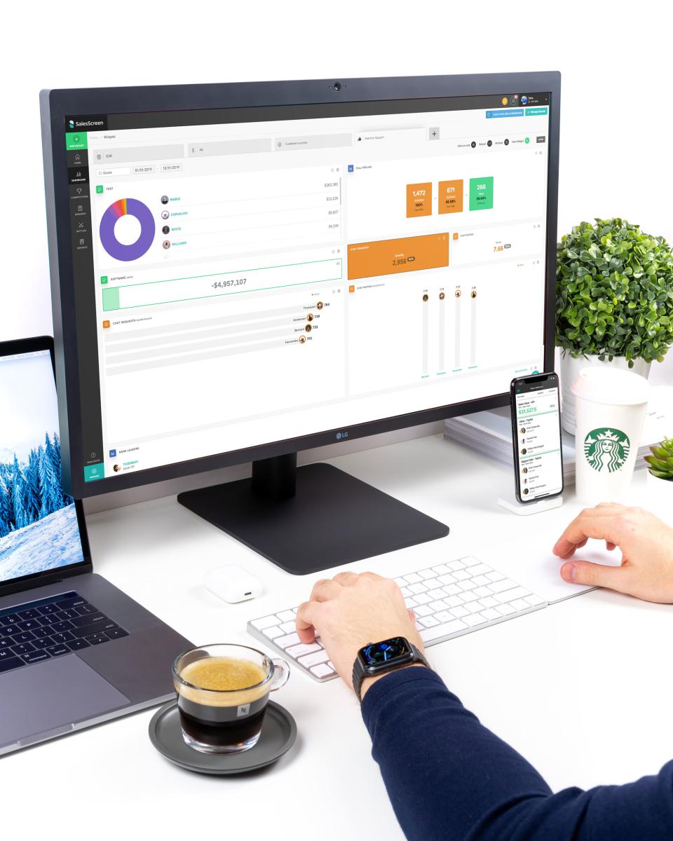 SalesScreen Software - 3