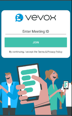 Vevox meeting participation