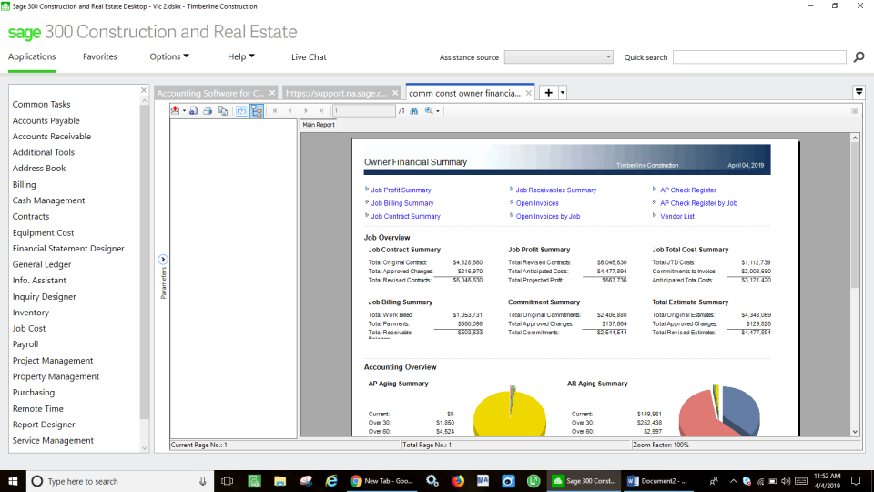 Sage 300 Construction and Real Estate Software - 2