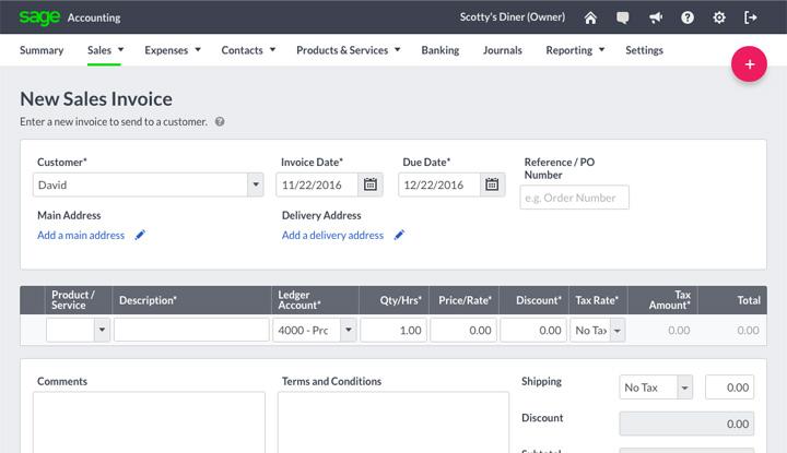 Sage Business Cloud Accounting Logiciel - 4