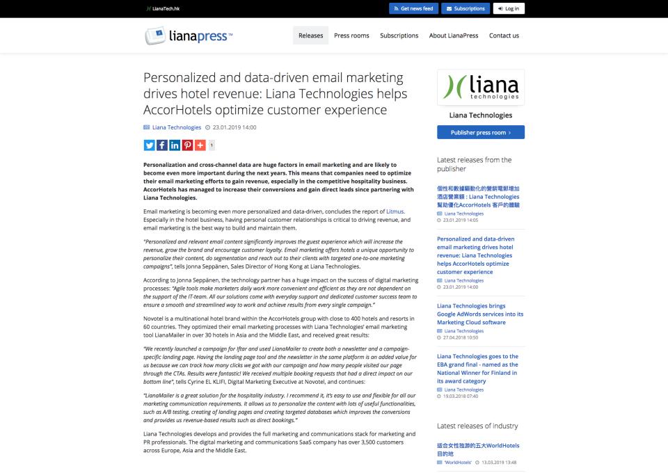 LianaMonitor Software - 4