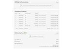 Chargebee screenshot: Chargebee Customer Portal
