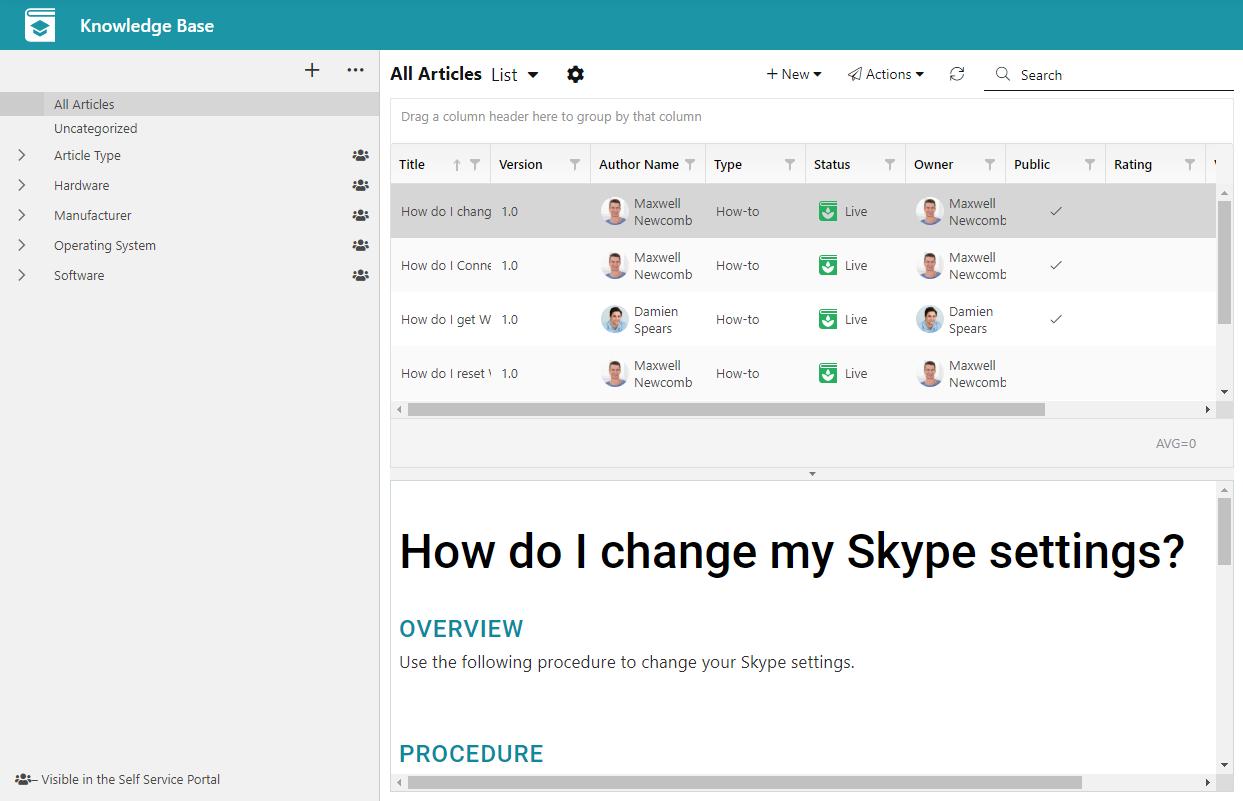 Alloy Navigator Software - Knowledgebase Articles