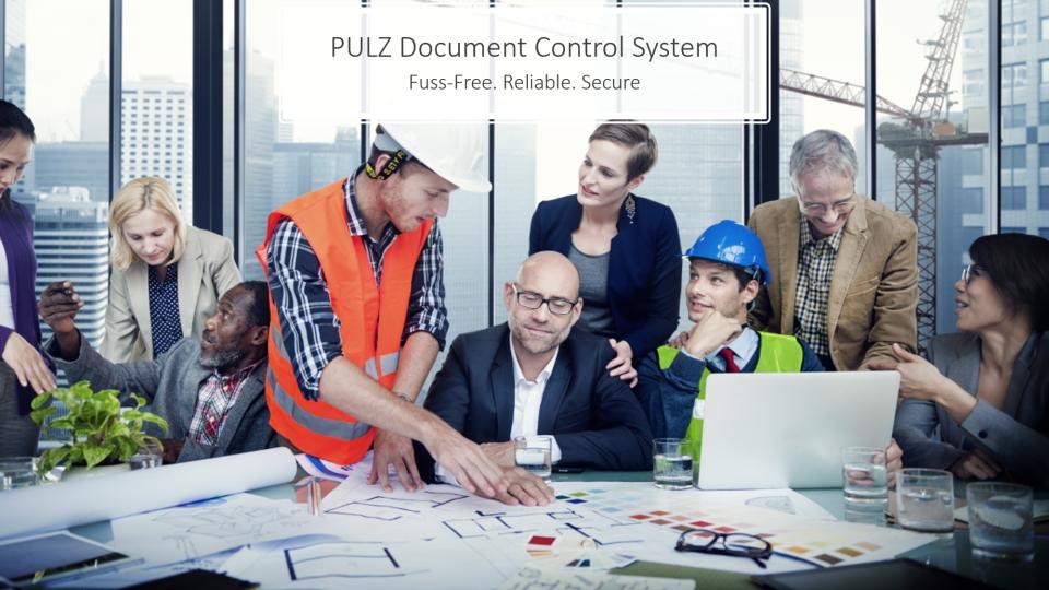 PULZ Document Control System Logiciel - 1