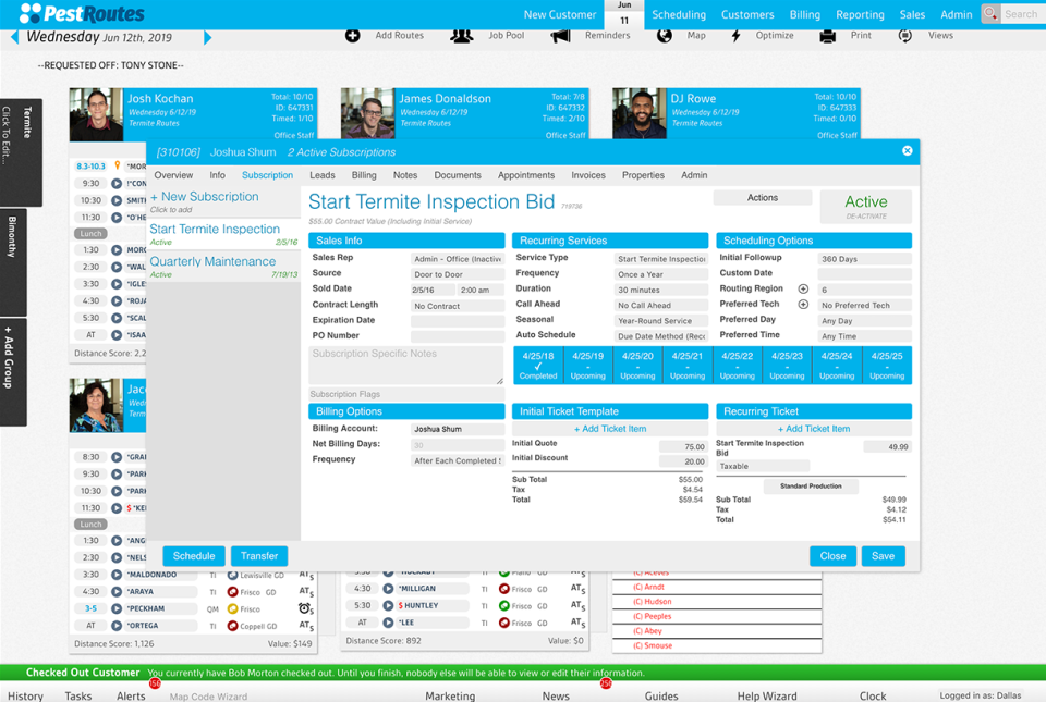 PestRoutes Software - 2