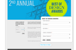 OpenWater screenshot: Build an attractive awards site which is optimized for any device
