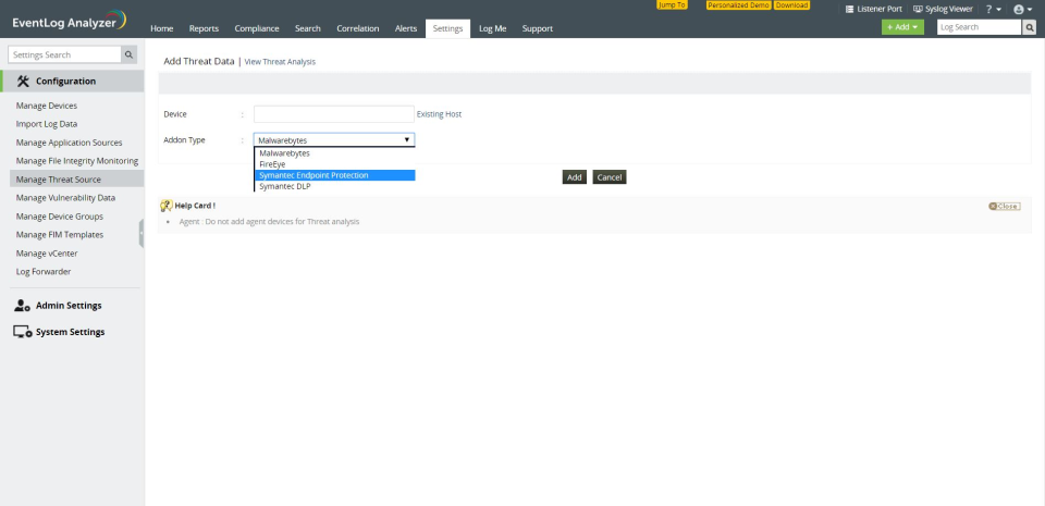 ManageEngine EventLog Analyzer Logiciel - 4