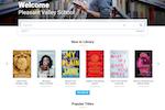 Surpass screenshot: Surpass digital library