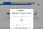 Udutu Online Course Authoring screenshot: Preview a course as a learner would see it